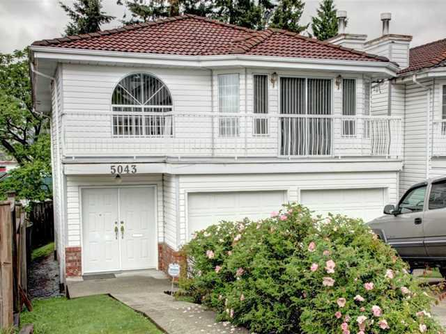 Main Photo: 5043 MANOR Street in Burnaby: Central BN House for sale (Burnaby North)  : MLS®# V951255