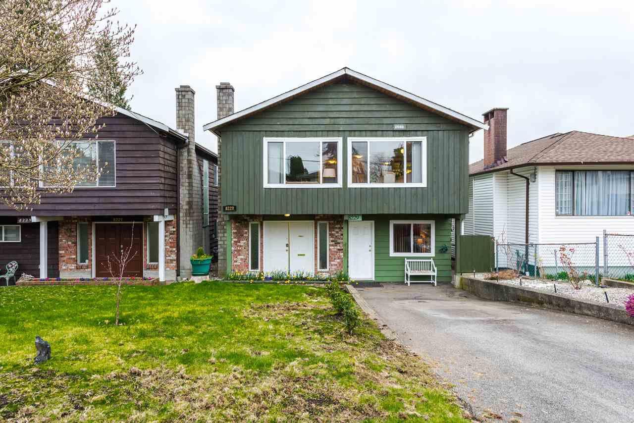 "Main Photo: 8229 18TH Avenue in Burnaby: East Burnaby House for sale in ""EAST BURNABY"" (Burnaby East)  : MLS®# R2045815"