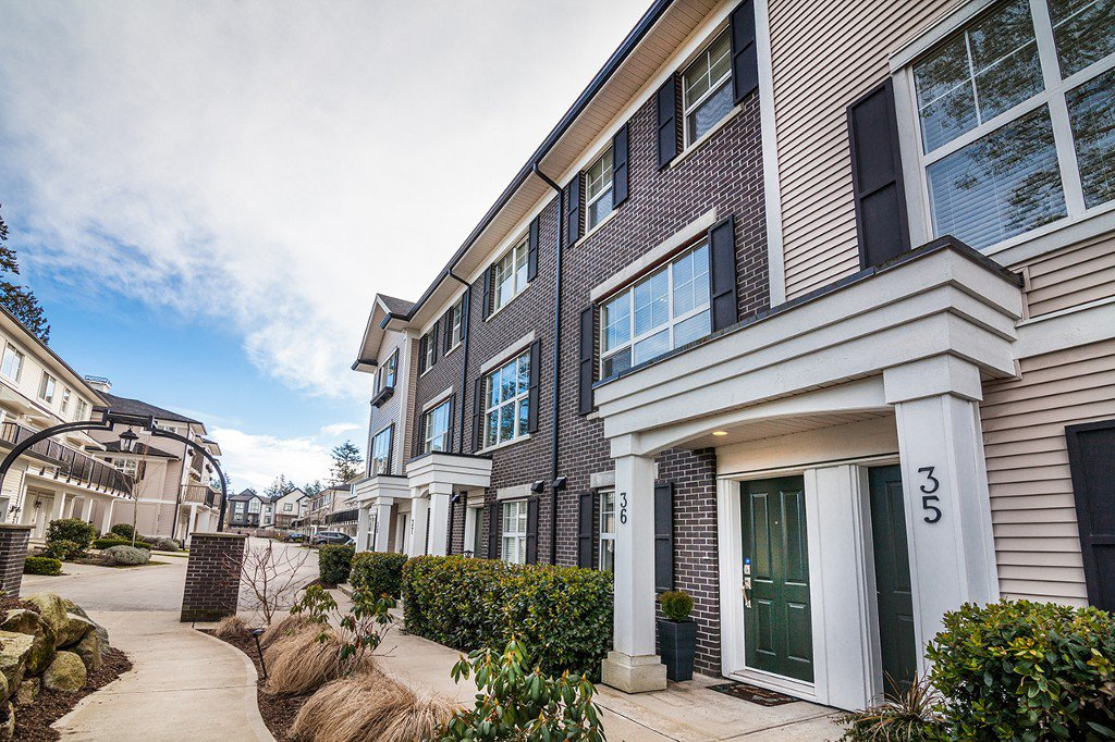 """Main Photo: 36 2469 164 Street in Surrey: Grandview Surrey Townhouse for sale in """"ABBEY ROAD"""" (South Surrey White Rock)  : MLS®# R2140498"""