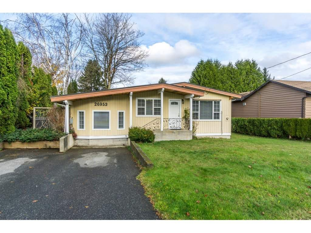 Main Photo: 26953 28A Avenue in Langley: Aldergrove Langley House for sale : MLS®# R2222308
