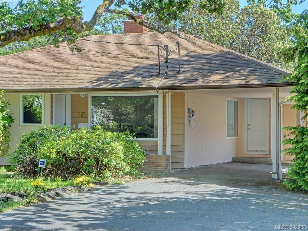 Main Photo: 907 Kingsmill Rd in VICTORIA: Es Gorge Vale Half Duplex for sale (Esquimalt)  : MLS®# 789216