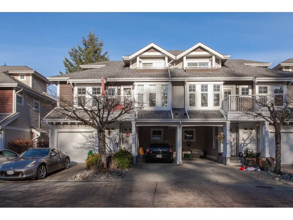 "Main Photo: 10 9036 208 Street in Langley: Walnut Grove Townhouse for sale in ""Hunter's Glen"" : MLS®# R2326258"