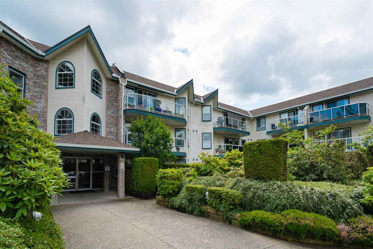 "Main Photo: 222 27358 32 Avenue in Langley: Aldergrove Langley Condo for sale in ""Willowcreek Estates"" : MLS®# R2462020"