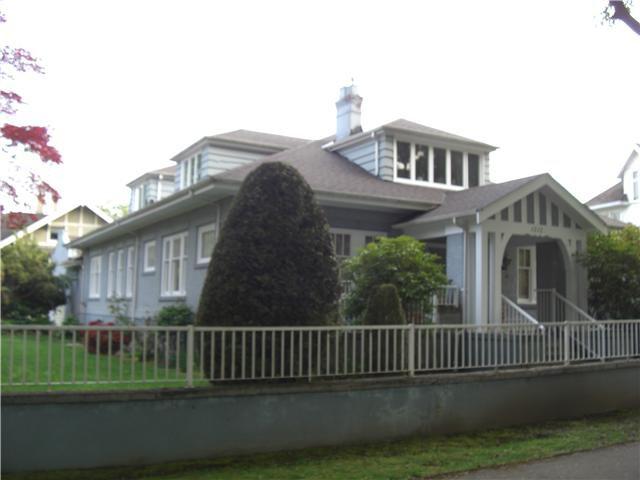 Main Photo: 1212 BALFOUR Avenue in Vancouver: Shaughnessy House for sale (Vancouver West)  : MLS®# V891708
