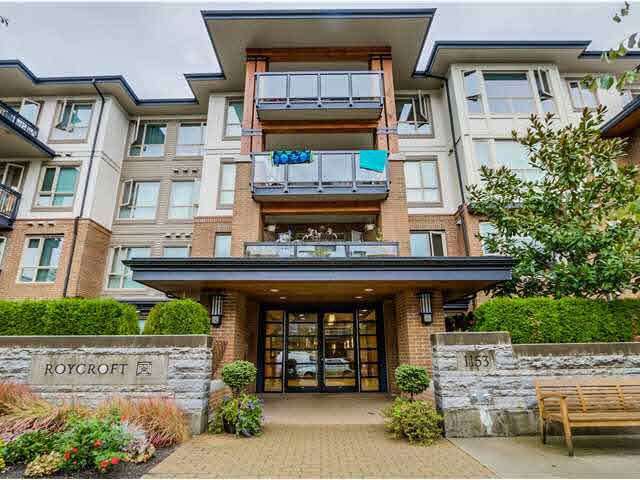 """Main Photo: 217 1153 KENSAL Place in Coquitlam: New Horizons Condo for sale in """"ROYCROFT"""" : MLS®# R2010380"""