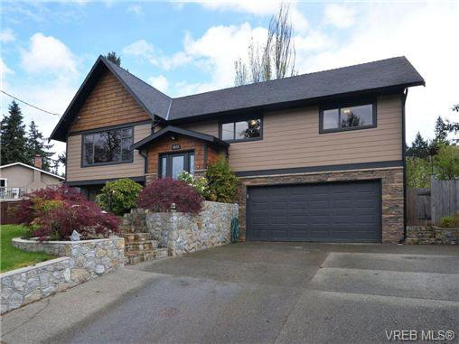 Main Photo: 6973 Wallace Dr in BRENTWOOD BAY: CS Brentwood Bay House for sale (Central Saanich)  : MLS®# 715468