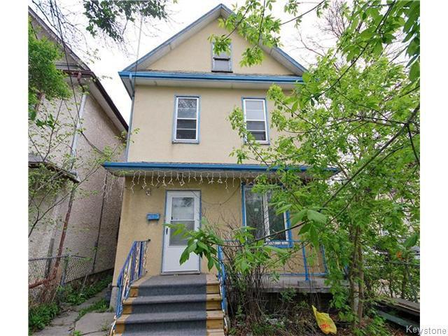 Main Photo: 477 Bannatyne Avenue in Winnipeg: Central Winnipeg Residential for sale : MLS®# 1612289