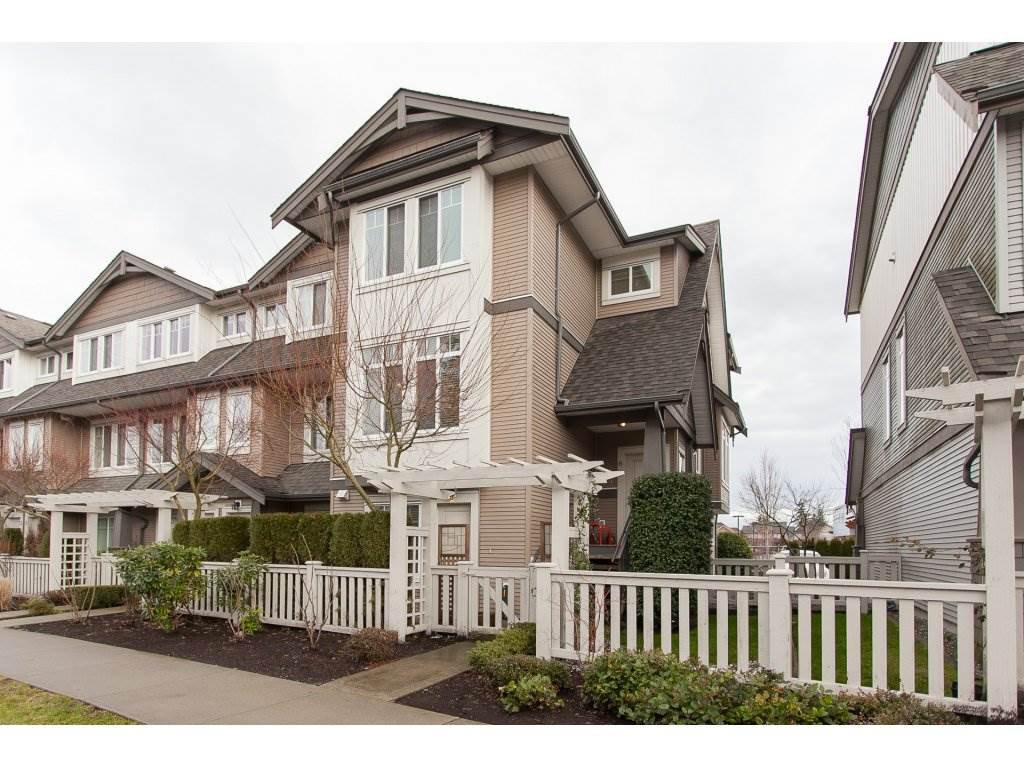 "Main Photo: 6 8250 209B Street in Langley: Willoughby Heights Townhouse for sale in ""Outlook"" : MLS®# R2233162"