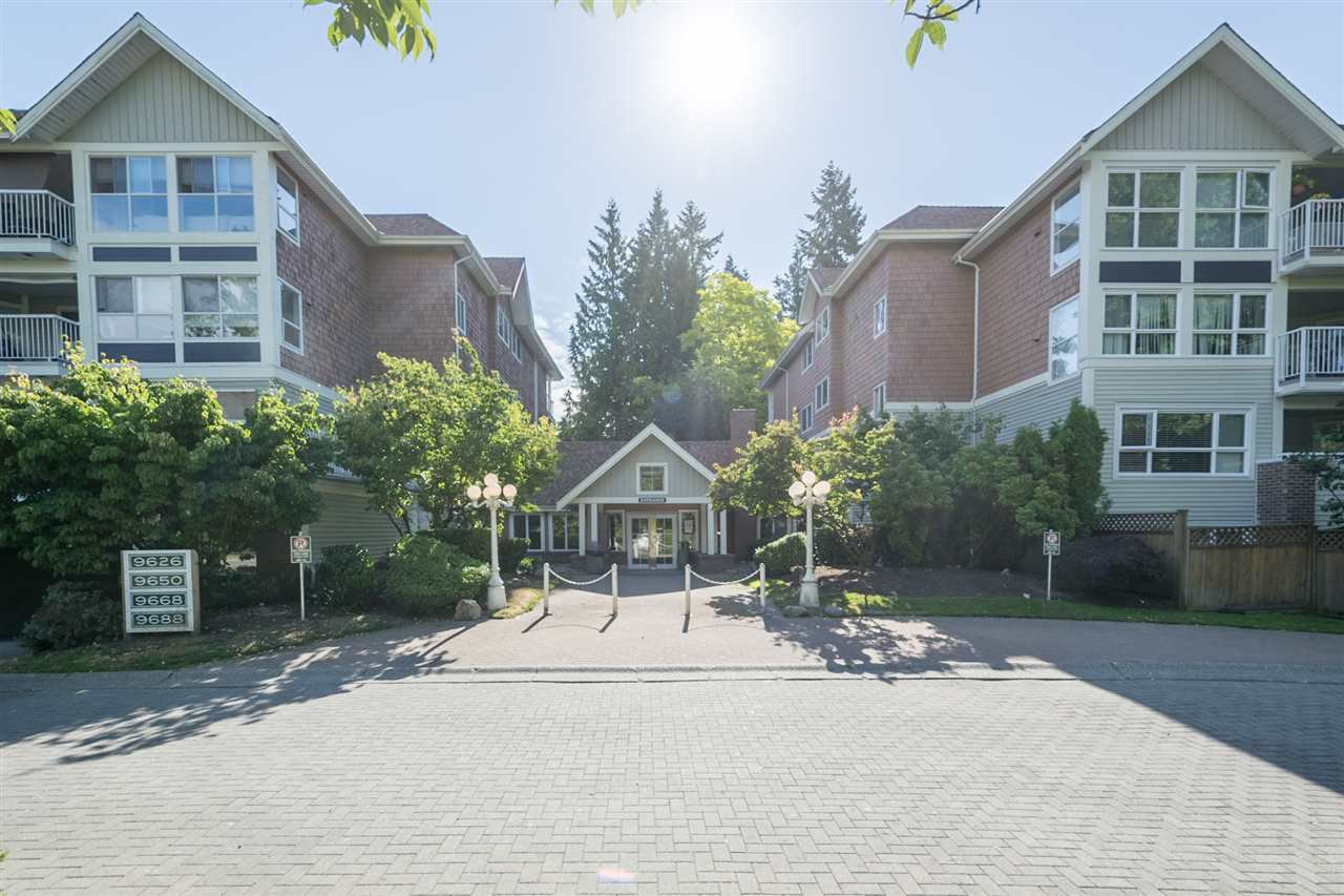 "Main Photo: 301 9626 148 Street in Surrey: Guildford Condo for sale in ""Hartford Woods"" (North Surrey)  : MLS®# R2250876"