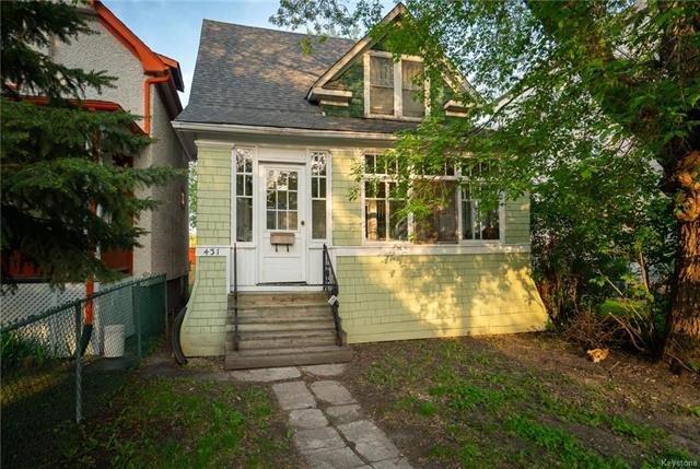 Main Photo: 431 Banning Street in Winnipeg: Residential for sale (5C)  : MLS®# 1807821