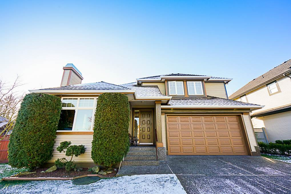 """Main Photo: 14740 75 Avenue in Surrey: East Newton House for sale in """"HARVEST WYND"""" : MLS®# R2339434"""