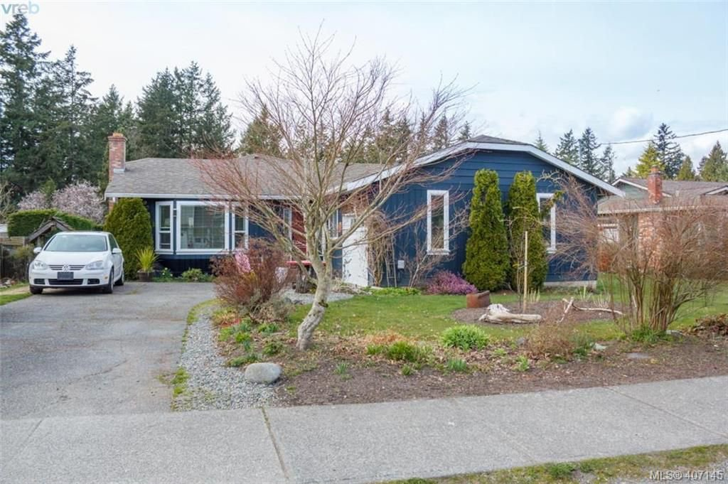 Main Photo: 6884 Central Saanich Rd in VICTORIA: CS Keating Single Family Detached for sale (Central Saanich)  : MLS®# 809127