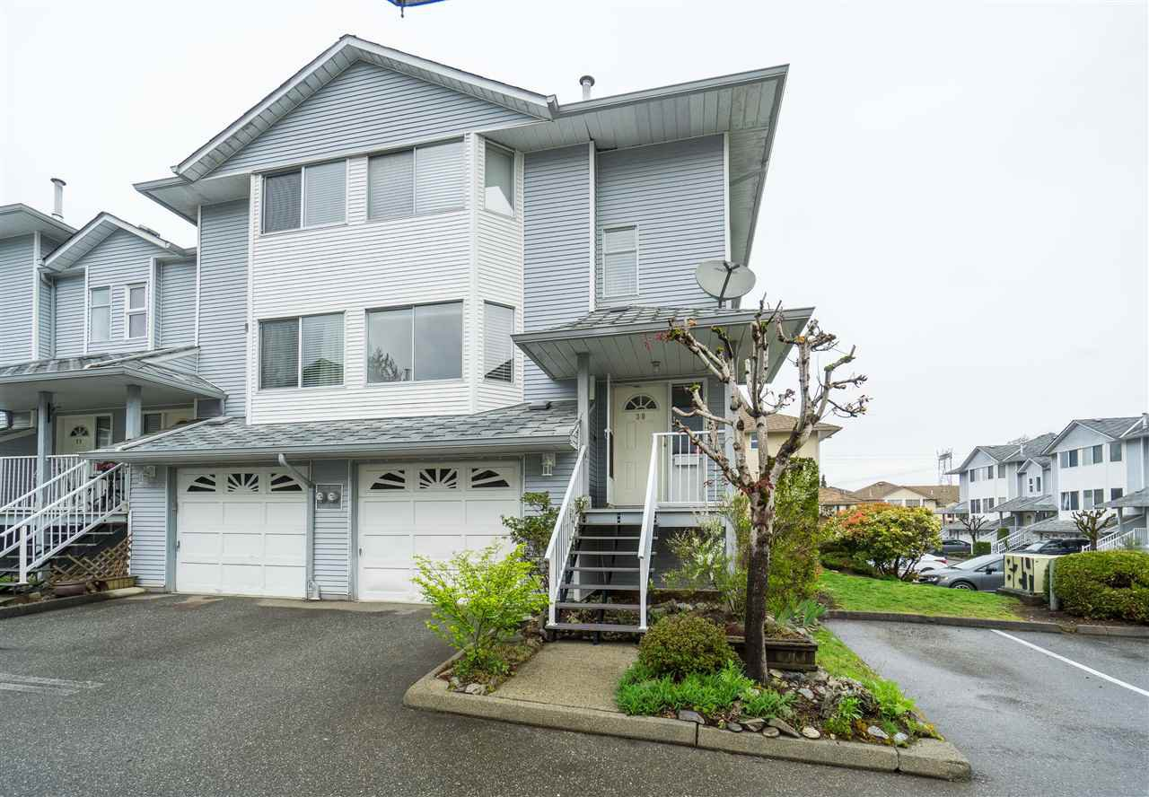 "Main Photo: 30 3087 IMMEL Street in Abbotsford: Central Abbotsford Townhouse for sale in ""Clayburn Estates"" : MLS®# R2359135"