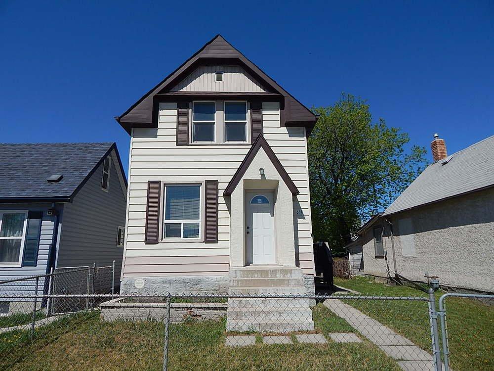 Main Photo: 599 Talbot Avenue in Winnipeg: House for sale : MLS®# 1812841