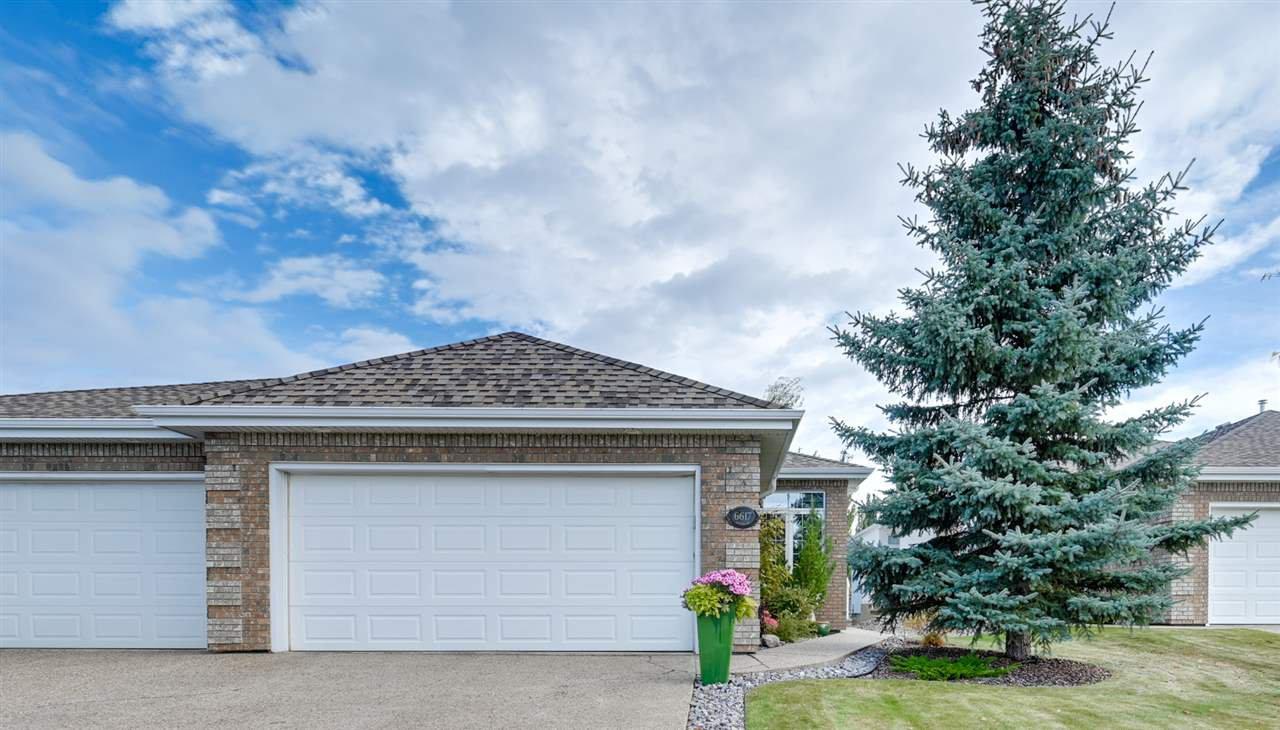 Main Photo: 6617 SANDIN Cove in Edmonton: Zone 14 House Half Duplex for sale : MLS®# E4216196