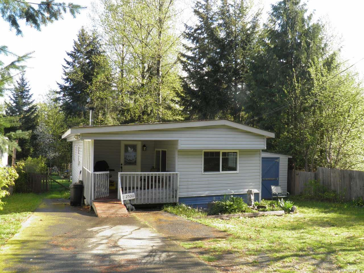 Main Photo: 1 2530 MacAulay Rd in BLACK CREEK: CV Merville Black Creek Manufactured Home for sale (Comox Valley)  : MLS®# 727923