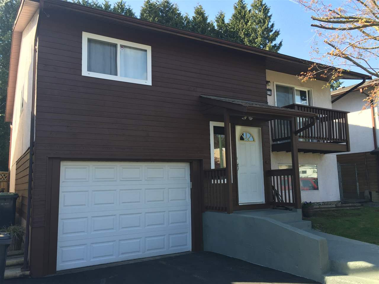 Main Photo: 1218 NESTOR Street in Coquitlam: New Horizons House for sale : MLS®# R2086986