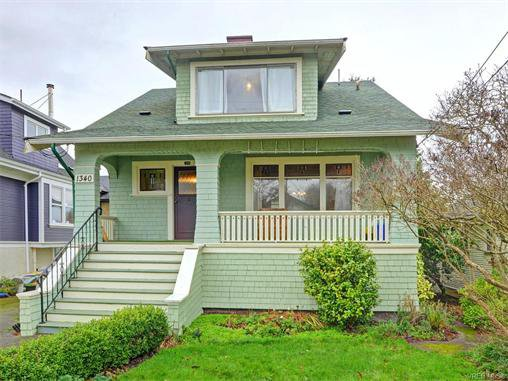 Main Photo: 1340 George Street in VICTORIA: Vi Fairfield West Single Family Detached for sale (Victoria)  : MLS®# 372342