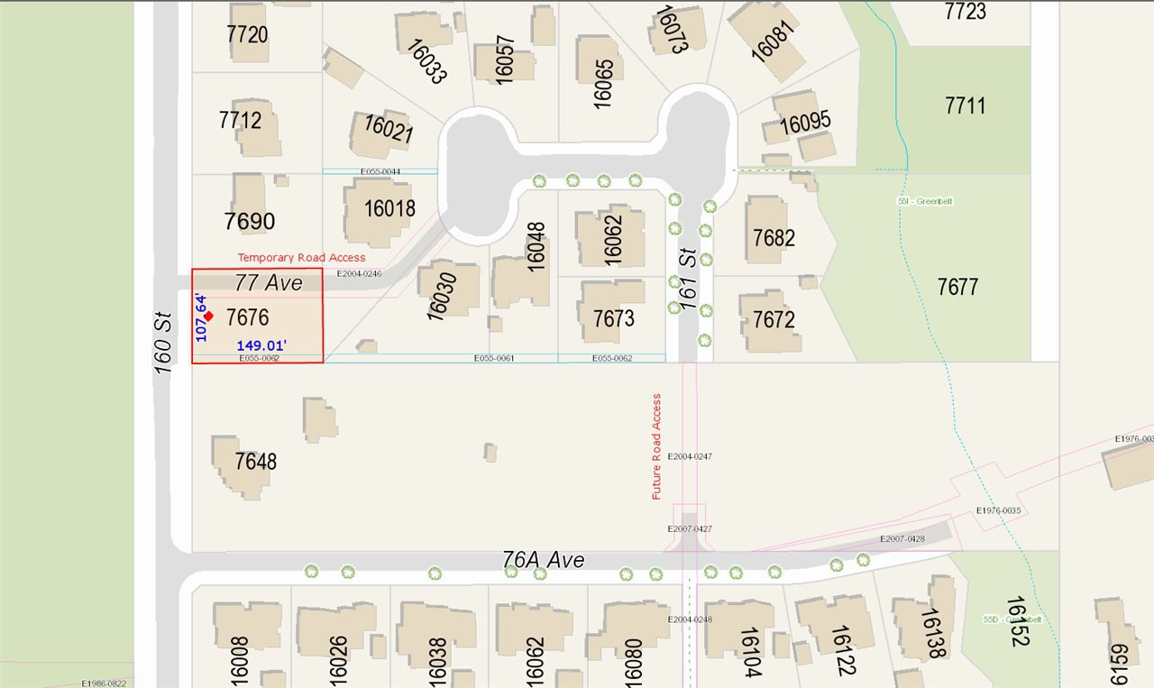 Main Photo: 7676 160 Street in Surrey: Fleetwood Tynehead Land for sale : MLS®# R2143443