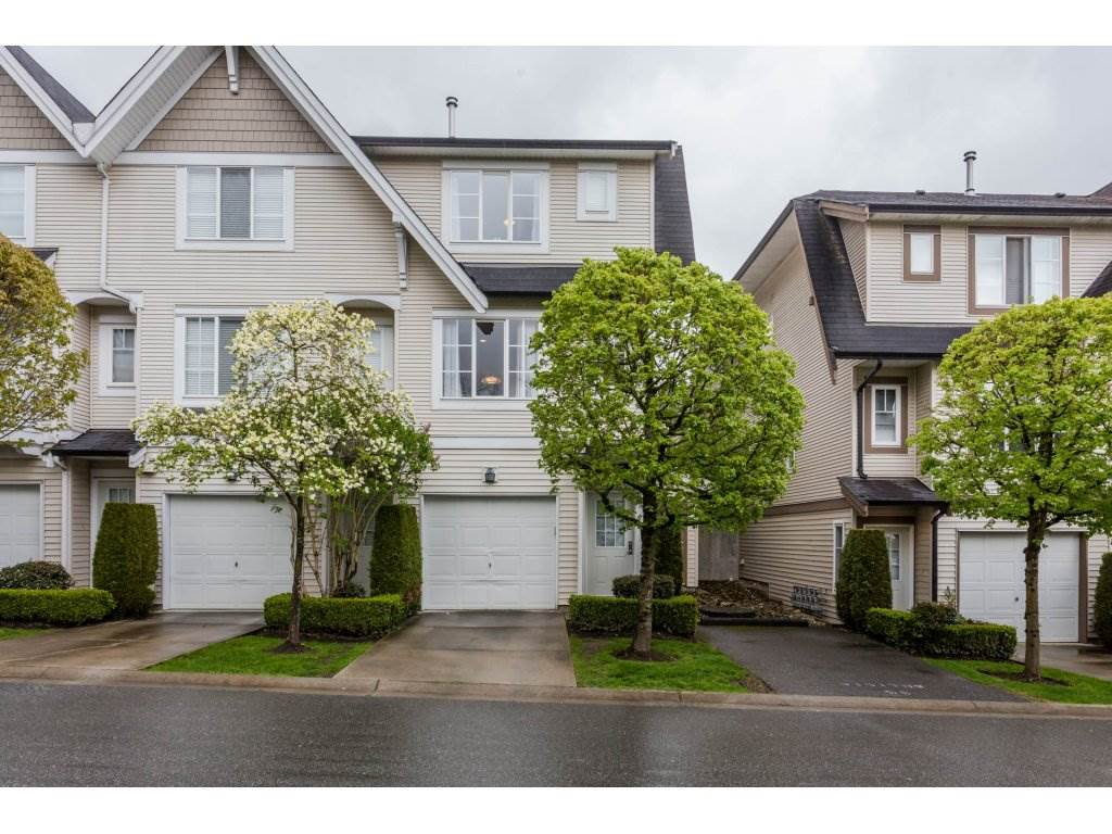 "Main Photo: 48 20540 66 Avenue in Langley: Willoughby Heights Townhouse for sale in ""AMBERLEIGH II"" : MLS®# R2160963"