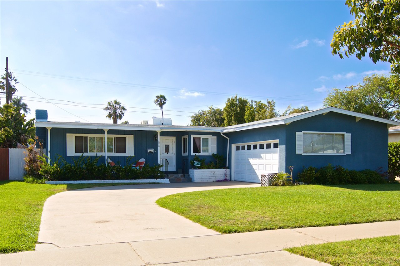 Main Photo: CORONADO VILLAGE House for sale : 3 bedrooms : 820 Coronado Avenue in Coronado