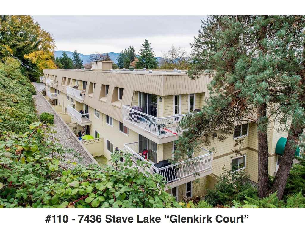 Main Photo: 110 7436 STAVE LAKE STREET in Mission: Mission BC Condo for sale : MLS®# R2220331