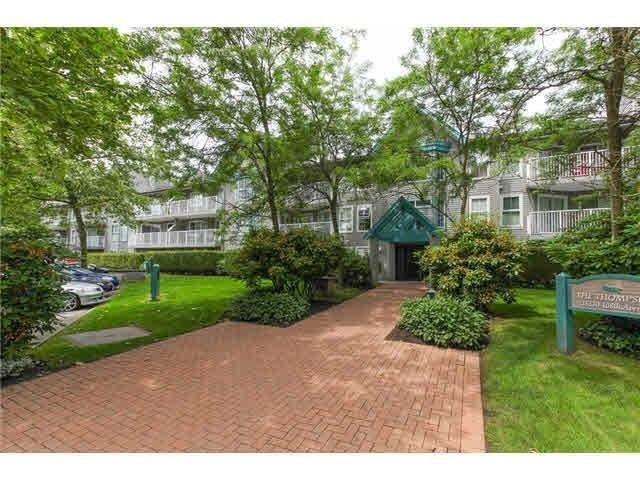 "Main Photo: 110 15110 108 Avenue in Surrey: Bolivar Heights Condo for sale in ""Riverpointe"" (North Surrey)  : MLS®# R2240376"