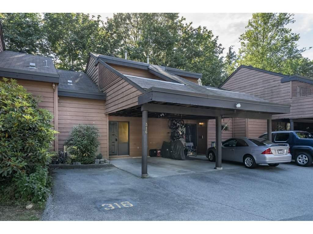 Main Photo: 316 CORNELL Way in Port Moody: College Park PM Townhouse for sale : MLS®# R2292007