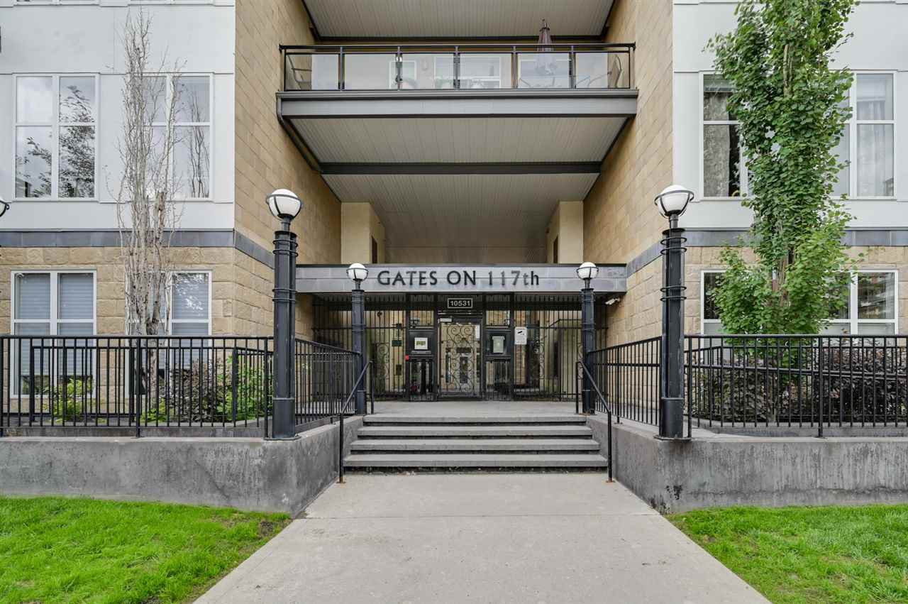 Main Photo: 308 10531 117 Street in Edmonton: Zone 08 Condo for sale : MLS®# E4164669