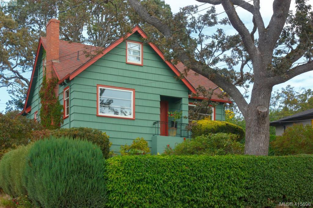 Main Photo: 1258 Montrose Avenue in VICTORIA: Vi Hillside Single Family Detached for sale (Victoria)  : MLS®# 415698