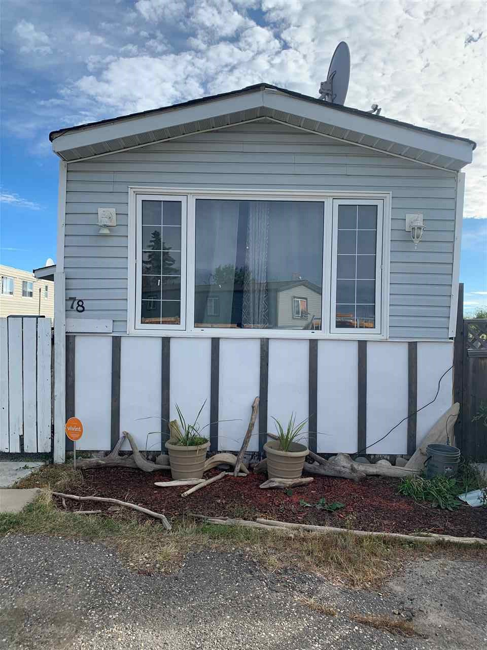 "Main Photo: 78 8420 ALASKA Road in Fort St. John: Fort St. John - City SE Manufactured Home for sale in ""PEACE COUNTRY"" (Fort St. John (Zone 60))  : MLS®# R2495486"
