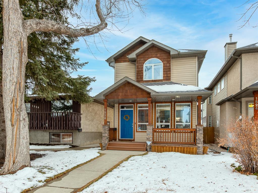 Main Photo: 1526 19 Avenue NW in Calgary: Capitol Hill Detached for sale : MLS®# A1031732