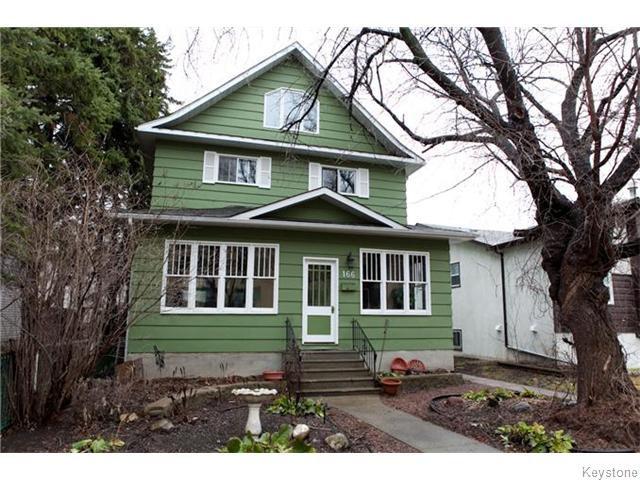 Main Photo: 166 Despins Street in Winnipeg: St Boniface Residential for sale (South East Winnipeg)  : MLS®# 1609150