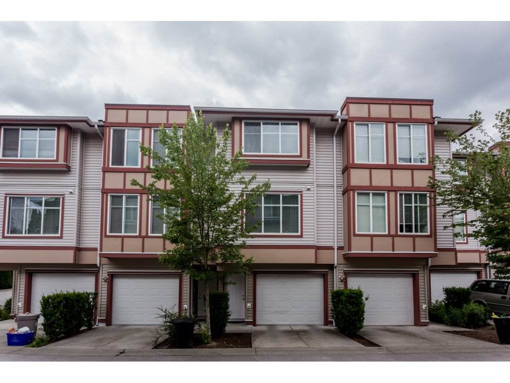 "Main Photo: 48 13899 LAUREL Drive in Surrey: Whalley Townhouse for sale in ""EMERALD GARDENS"" (North Surrey)  : MLS®# R2076948"