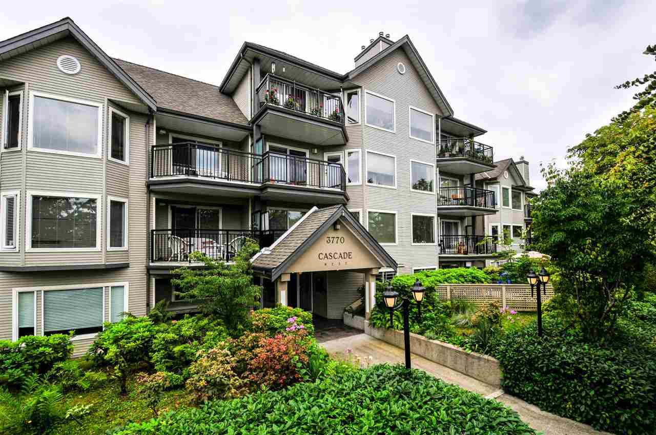 "Main Photo: 112 3770 MANOR Street in Burnaby: Central BN Condo for sale in ""CASCADE WEST"" (Burnaby North)  : MLS®# R2094067"