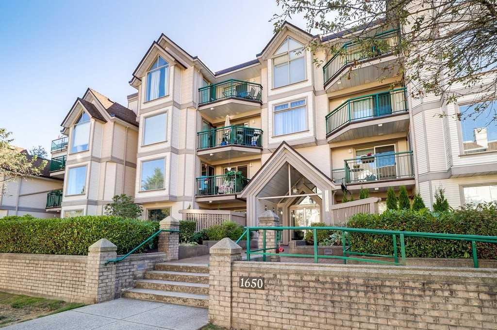 "Main Photo: 101 1650 GRANT Avenue in Port Coquitlam: Glenwood PQ Condo for sale in ""FORESTSIDE"" : MLS®# R2205482"