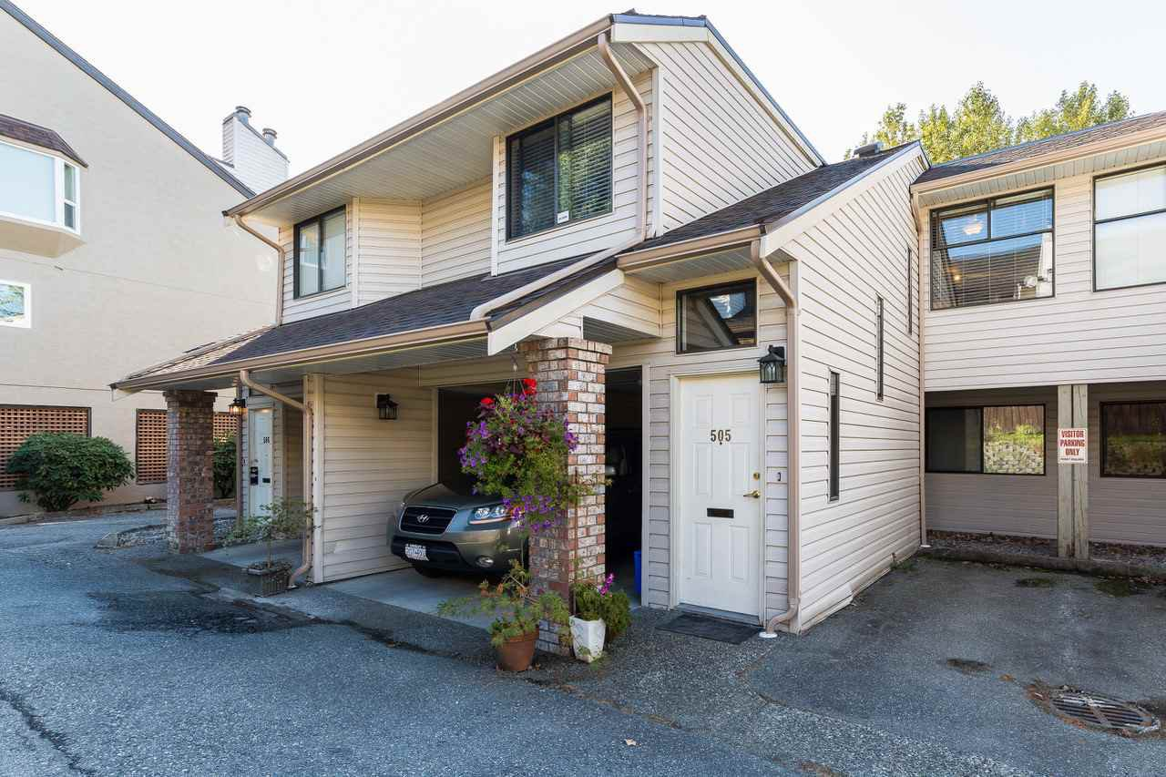 Main Photo: 505 11726 225 Street in Maple Ridge: East Central Townhouse for sale : MLS®# R2208587