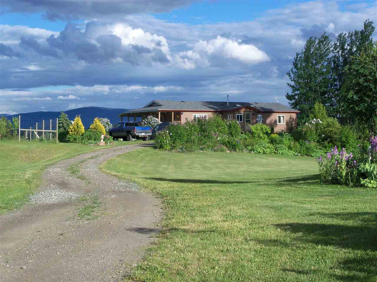 Main Photo: 5688 LINCOLN Road: Horsefly Manufactured Home for sale (Williams Lake (Zone 27))  : MLS®# R2247755