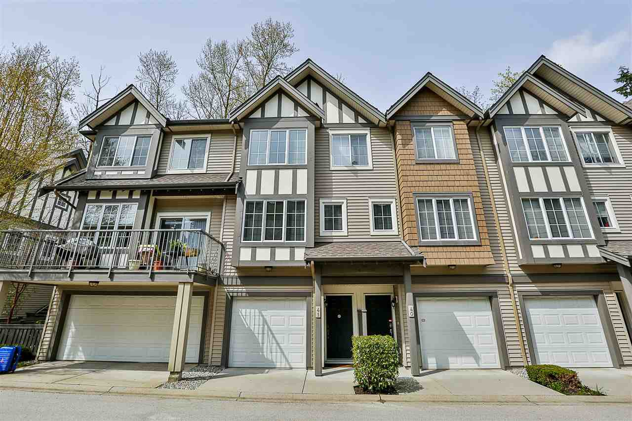 "Main Photo: 41 8533 CUMBERLAND Place in Burnaby: The Crest Townhouse for sale in ""CHANCERY LANE"" (Burnaby East)  : MLS®# R2259303"