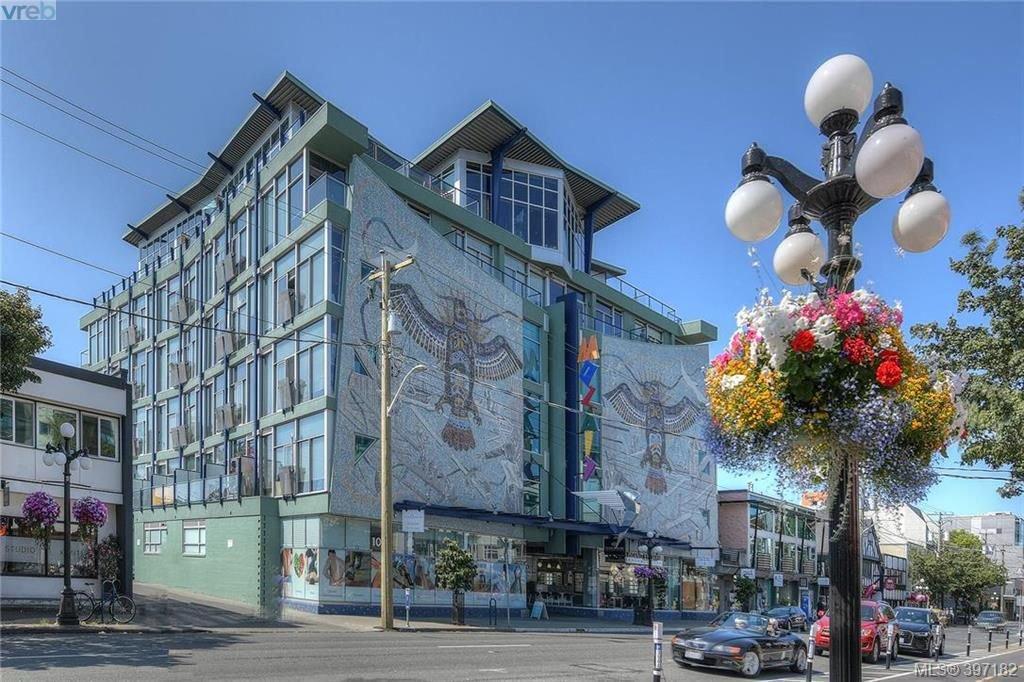 Main Photo: 212 1061 Fort St in VICTORIA: Vi Downtown Condo for sale (Victoria)  : MLS®# 794465