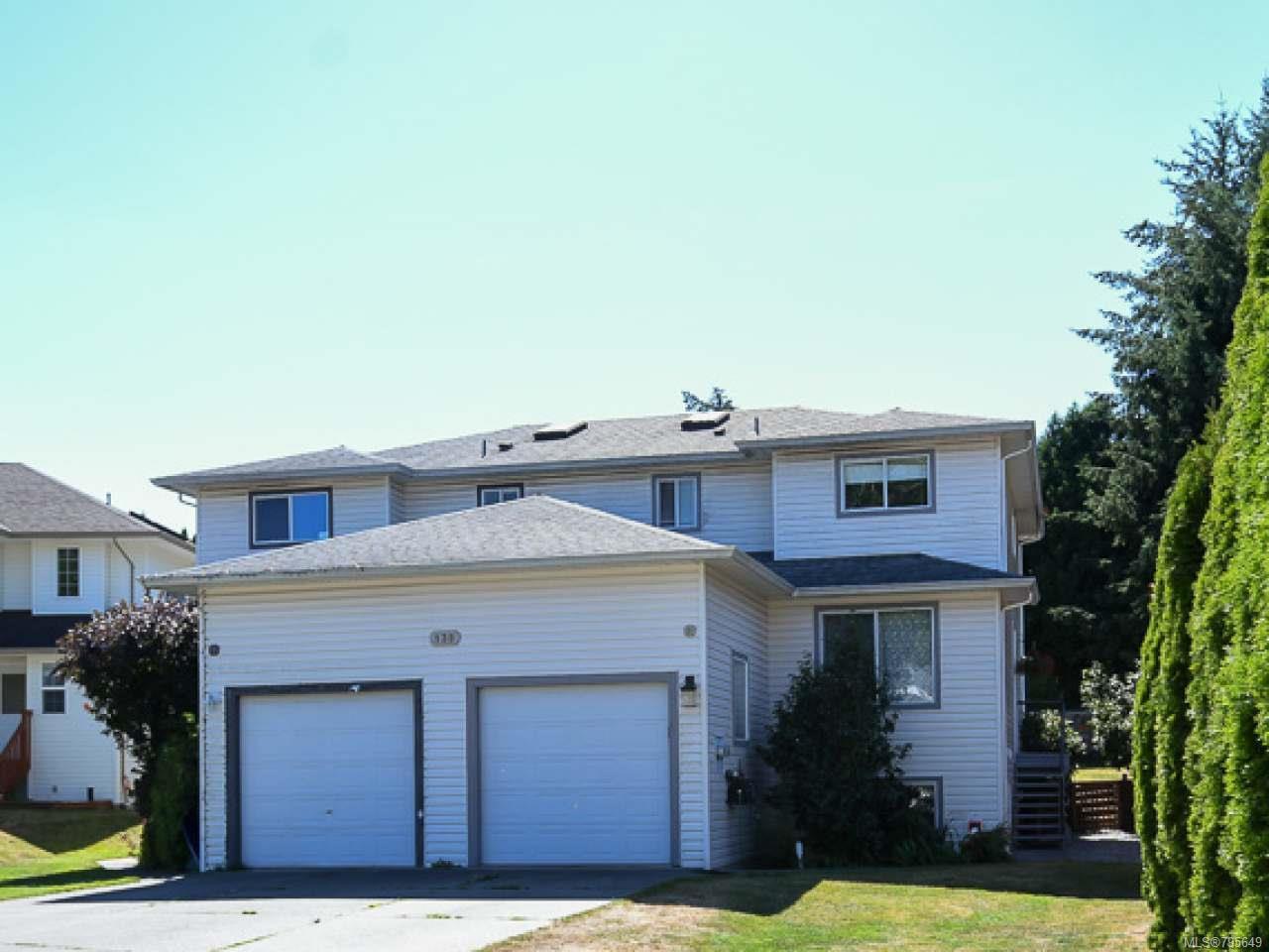Main Photo: 139B Malcolm Pl in COURTENAY: CV Courtenay City Half Duplex for sale (Comox Valley)  : MLS®# 795649