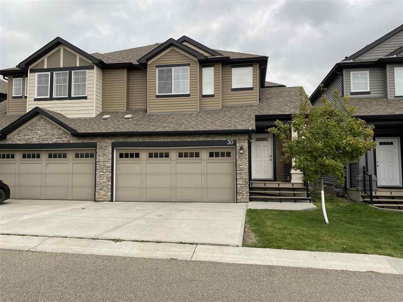 Main Photo: 6835 SPEAKER Vista in Edmonton: Zone 14 Townhouse for sale : MLS®# E4214273