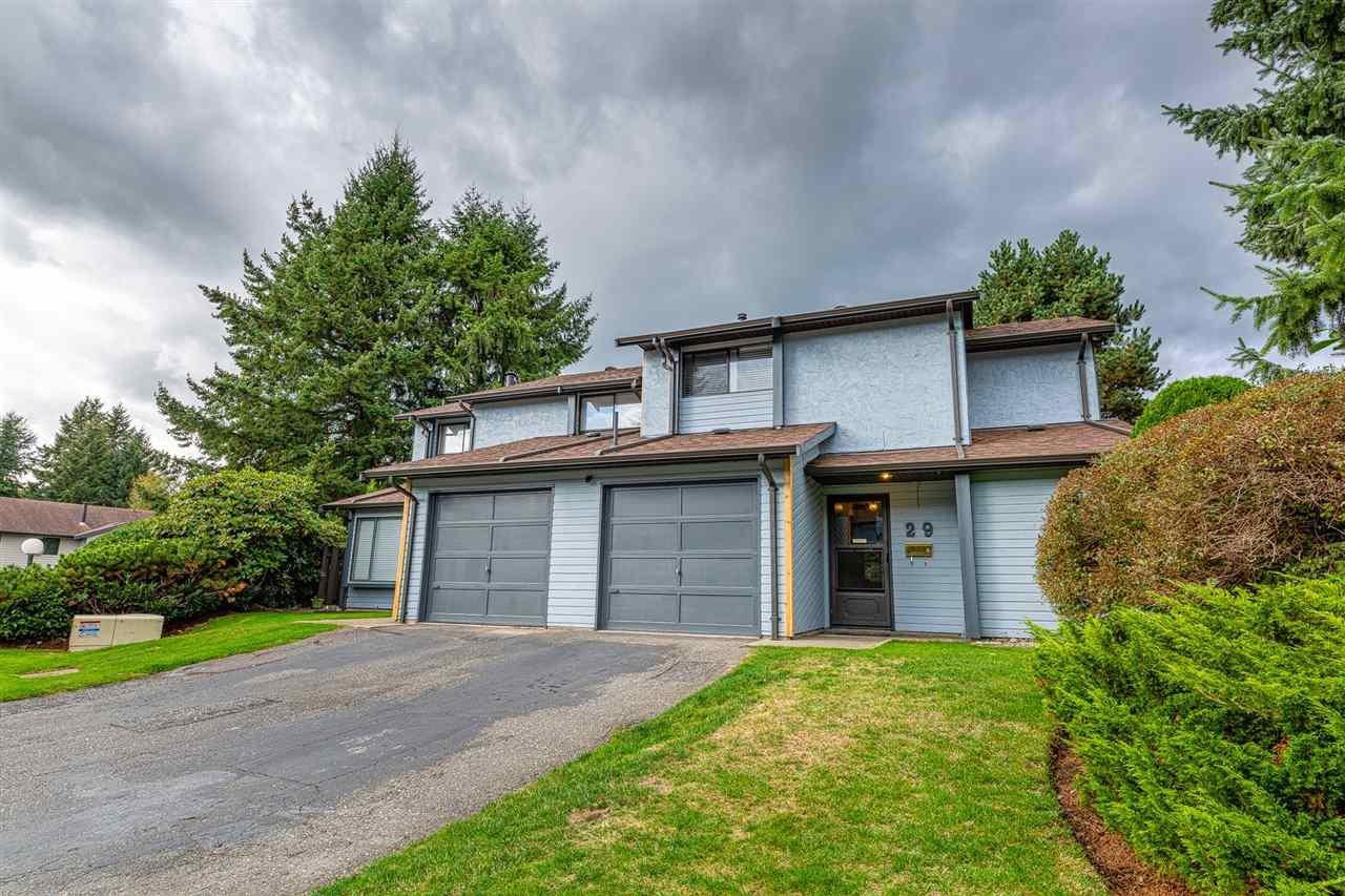 "Main Photo: 29 21550 CHERRINGTON Avenue in Maple Ridge: West Central Townhouse for sale in ""Maple Ridge Estates"" : MLS®# R2508234"