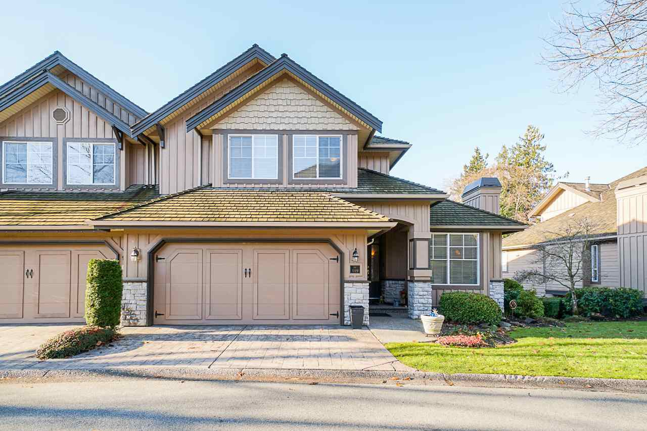 Main Photo: 119 15350 SEQUOIA Drive in Surrey: Fleetwood Tynehead Townhouse for sale : MLS®# R2521534