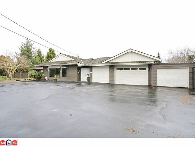 Main Photo: 16779 EDGEWOOD Drive in Surrey: Grandview Surrey House for sale (South Surrey White Rock)  : MLS®# F1202312