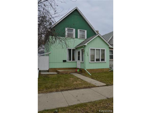 Main Photo: 788 Valour Road in WINNIPEG: West End / Wolseley Residential for sale (West Winnipeg)  : MLS®# 1410101