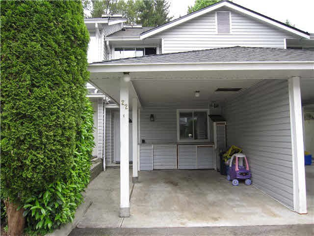 """Main Photo: 22 22411 124 Avenue in Maple Ridge: East Central Townhouse for sale in """"CREEKSIDE VILLAGE"""" : MLS®# V1136184"""