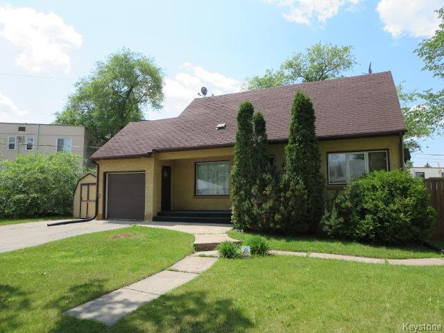 Main Photo: 55 Champlain Street in Winnipeg: Norwood Residential for sale (2B)  : MLS®# 1618004