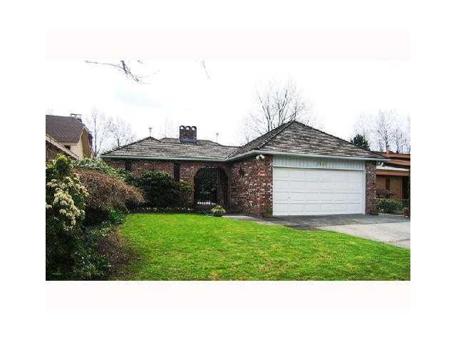 Main Photo: 3176 E 62ND AV in VANCOUVER: Champlain Heights House for sale (Vancouver East)  : MLS®# V877311