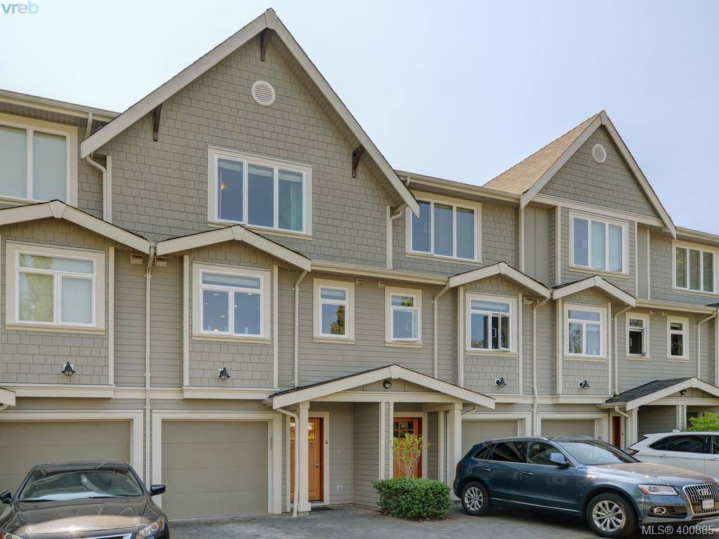 Main Photo: 4 2918 Shelbourne St in VICTORIA: Vi Oaklands Row/Townhouse for sale (Victoria)  : MLS®# 799920